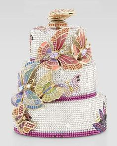 Butterfly Cake Minaudiere - Judith...