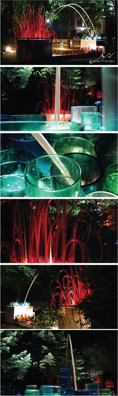 Procreation Installation | architect Simona M. Favrin | Murano glass masters: Fabio Fornasier, Alessandro Mandruzzato, Simona Cenedese and Andrea Penzo