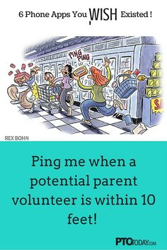 Get our list, have a chuckle! Pto Today, Fundraising Activities, Parent Volunteers, Board Member, Volunteer Appreciation, Ring True, Pta, Wish, Smartphone