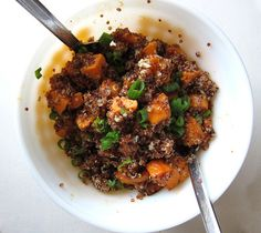 Sweet Potato and Quinoa Salad by you can count on me, via Flickr