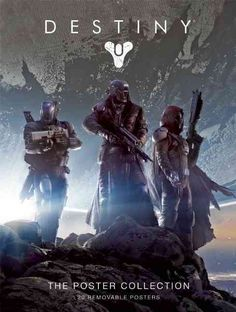 Explore the Destiny universe with this striking poster collection, featuring full-color concept art from the groundbreaking first-person action adventure. This vibrant set of images showcases iconic e