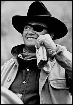 John Wayne [1907-1979] stars as U.S. Marshal Rooster Cogburn and won his only Academy Award for his performance in this film. Wayne reprised his role as Cogburn in the 1975 sequel Rooster Cogburn. Historians believe Rooster was based on deputy U.S. marshal Heck Thomas, who brought in some of the toughest outlaws.