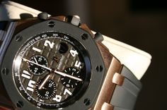 FS: Rose Gold Audemars Piguet Royal Oak Offshore 25940OK Rubber Clad H New Dial Mint - Rolex Forums - Rolex Watch Forum