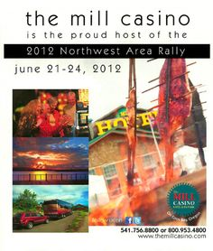 The Mill Casino Hotel & RV Park hosts annual Northwest Area Rally of the Family Motor Coach Association in June
