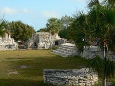 Xcambo Ruins, near Progreso, Yucatan, Mexico