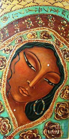 Quan Yin Painting  - Quan Yin Fine Art Print