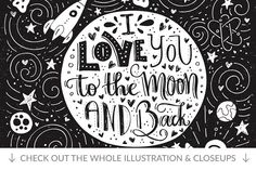 11 Hand Lettering Quotes  by Favete Art on @creativemarket