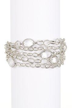 Sterling Silver Venus Crystal Chain Bracelet by LAGOS on @nordstrom_rack