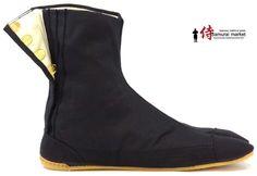 Comfort-Cushioned Ninja Tabi Shoes! (Japanese Low Tops - Black ...