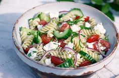 Greek Pasta Salad - Children's Recipes - Tesco Real Food