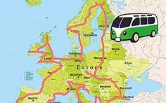 Europa im Auto – DAS ist der perfekte Roadtrip