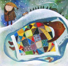 Pinzellades al món: Jocs en la neu: Il·lustracions d'Anna Silivonchik / Juegos en la nieve / Games in the snow