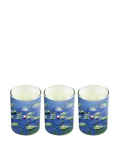 50% OFF Set of 3 Monet Soy Candles #home #Home