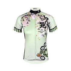 Paladin Womens Cycling Shirts Short Sleeve Cherry Pattern Bike Jerseys Size  M     Be 839f1e23c