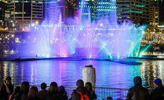 Vivid Sydney 2016 Lights up Darling Harbour.