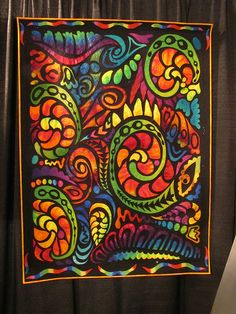 """I'd name this quilt """"feeling groovy"""" :)    by Jackie-Quilts!, via Flickr"""