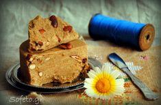 Σπιτικός χαλβάς με ταχίνι , χωρίς ζάχαρη !!! Γεύση αυθεντική… Vegan Vegetarian, Vegetarian Recipes, Greek Sweets, Sugar Free, Deserts, Muffin, Pudding, Baking, Breakfast