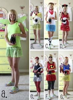 Disney running costume ideas