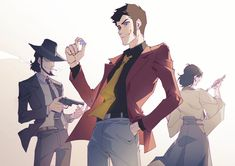 Lupin The Third, Dnd Art, Manga, Studio Ghibli, Cool Art, Comics, Fanart, Fandoms, Characters