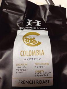 コロンビアのタママウンテン。堀口珈琲で購入。