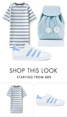 """""""Untitled #107"""" by halissiaelviracra on Polyvore featuring Lacoste L!VE, adidas and Sugarbaby"""