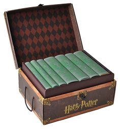 One Kings Lane - Literary Gifts - S/7 Harry Potter Slytherin Collection