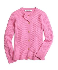 Shop the Brooks Brothers collection of girls' sweaters and cardigans. Girls Fall Fashion, Autumn Fashion, Womens Fashion, Girls Clothing Stores, Women's Clothing, Cable Knit Cardigan, Girls Sweaters, Brooks Brothers, Kids Wear