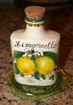 Lemons and Limoncello from Italy's Amalfi Coast Amalfi Italy, Amalfi Coast, Capri Italy, Sorrento, Making Limoncello, Italian Pottery, Italian Wine, Italian Drinks, Lemon Lime