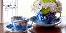 Spode Blue Room line...so beautiful and inexpensive.