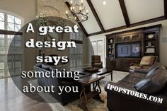 A great design says something about you. #furniture #furnishings #furnituredesign #furnituremakeover #furniturestore #interior #interiordesign #home #homedecor #homedesign #homedecorating #homedecorideas #design #decor #decorideas #layout #house #beautifulinteriors #dreamhome #decoraccents #decortips #designtips #shopping #shoppingonline #onlineshopping #ipopstores