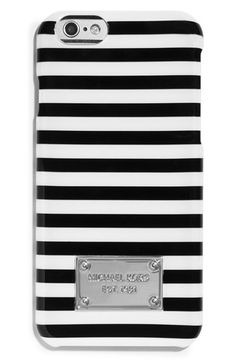 MICHAEL+Michael+Kors+'Corby+Stripe'+iPhone+6+Case+available+at+#Nordstrom