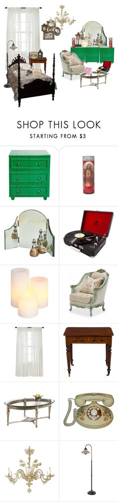 """""""Dreaming room"""" by bada-j ❤ liked on Polyvore featuring interior, interiors, interior design, home, home decor, interior decorating, Worlds Away, WALL, GPO and Gerson"""