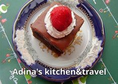 Adina's kitchen & travel: Brownies Homemade Sweets, Gordon Ramsay, Chip Cookies, Brownies, Panna Cotta, Waffles, Cheesecake, Chips, Breakfast