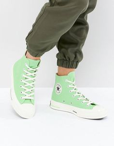 ad3c697c8092 Converse Chuck Taylor All Star  70 Hi Sneakers In Green