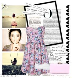 """We Are All Trying To Find Some Color In This Black And White World"" by nerdygirl112706 ❤ liked on Polyvore"