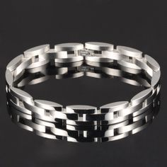 Cool Mans Link Chain Bracelets Casual/Sporty Stainless Full Steel Boyfriend Gift Personality Men Jewelry Korea Style Source by Unique Gifts For Boyfriend, Boyfriend Gifts, Link Bracelets, Bangle Bracelets, Bangles, Korea Fashion, Fashion Fall, Trendy Fashion, Fashion Capsule