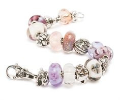 The Easter inspired Bracelet, Stop in and See it! with animals, soft pinks& purples