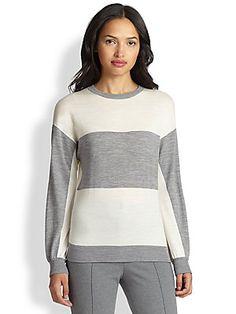 Akris Punto Wool Striped Sweater