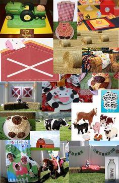 Farm party inspiration board