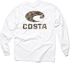 Costa Del Mar Realtree Max-4 Camo Shirt