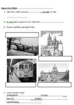 pracovní list o Praze Taj Mahal, Travel, Historia, Viajes, Destinations, Traveling, Trips