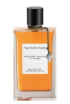 Collection Extraordinaire Orchidee Vanille Van Cleef & Arpels for women   ****How wonderful & perfect. I love it!****  main accords: sweet,  vanilla,  floral, powdery,  fruity  **(though, the price is hard...130€ for 100 ml)*** who needs a bottle of this size?