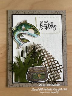 Stamp With Melanie: Best Catch Birthday