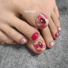 2019 The most fashionable nail color(living Coral) - BOK Spring Nail Colors, Nail Designs Spring, Spring Nails, Pink Polish, Nail Polish Colors, Minimalist Nails, Trendy Nail Art, Nail Trends