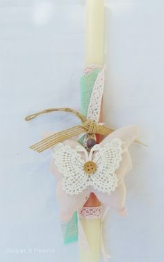 Λαμπαδίτσες για κορίτσια 2016 ~ Sugar & Pearls Easter Ideas, Easter Crafts, Christmas Ornaments, Holiday Decor, Christmas Jewelry, Christmas Decorations, Christmas Wedding Decorations