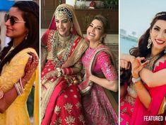 Jiju Saali Love - The Cutest Indian Wedding Moments to Bookmark! Indian Bridesmaids, Bridesmaid Dresses, Bridesmaid Pictures, Wedding Pictures, Indian Wedding Songs, New Henna Designs, Bridal Poses, Team Bride, Wedding Story