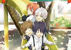 Hajime, Shun, You, Iku