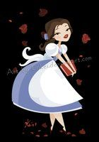 Pretty Disney Princess and Pinup style images