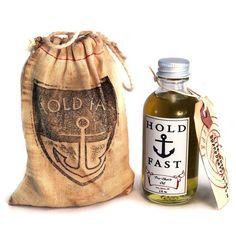 Pre-Shave Öl von Soapbox Gypsy für die Behandlung der Haut vor der Rasur.