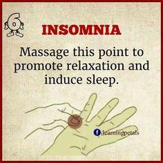 4Insomnia #massageforhealth